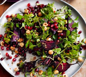 baby-beetroot-green-lentil-watercress-and-hazelnut-salad