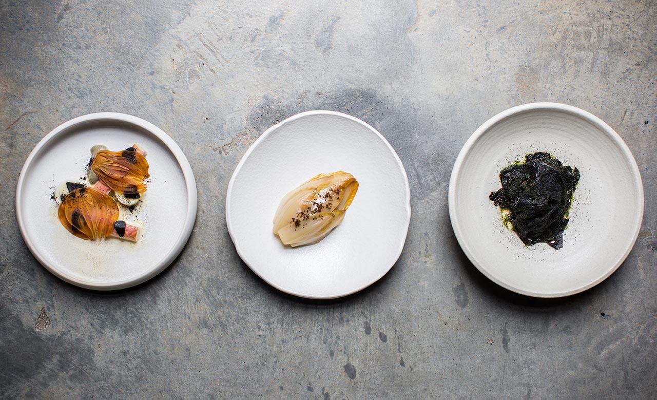 Image of food on plates