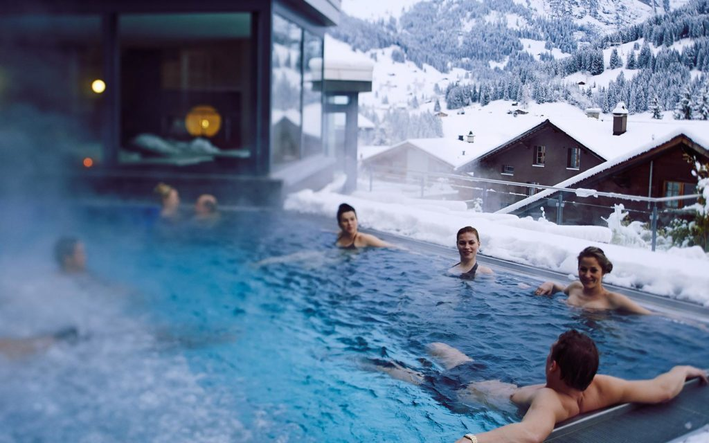 Image of people in spa
