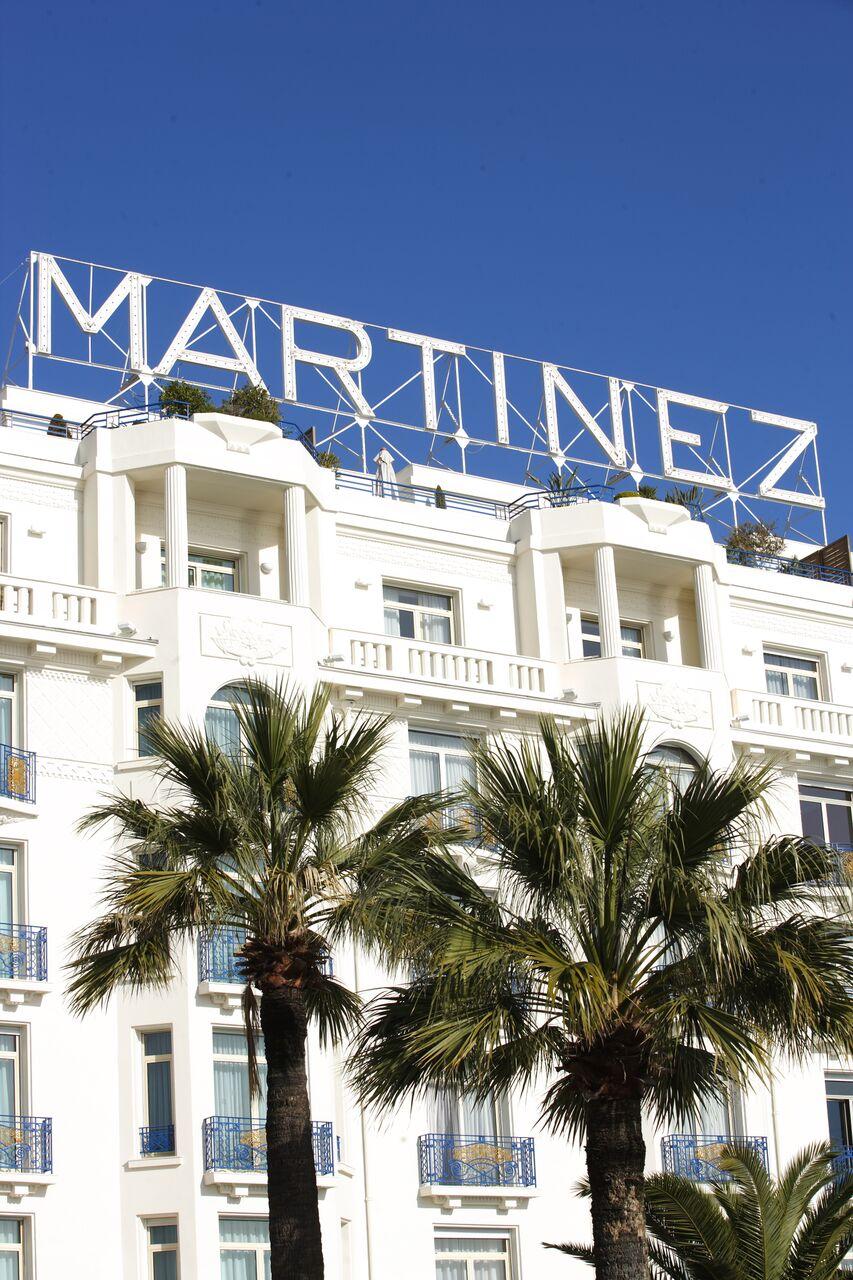 The new Grand Hyatt Cannes Hotel Martinez