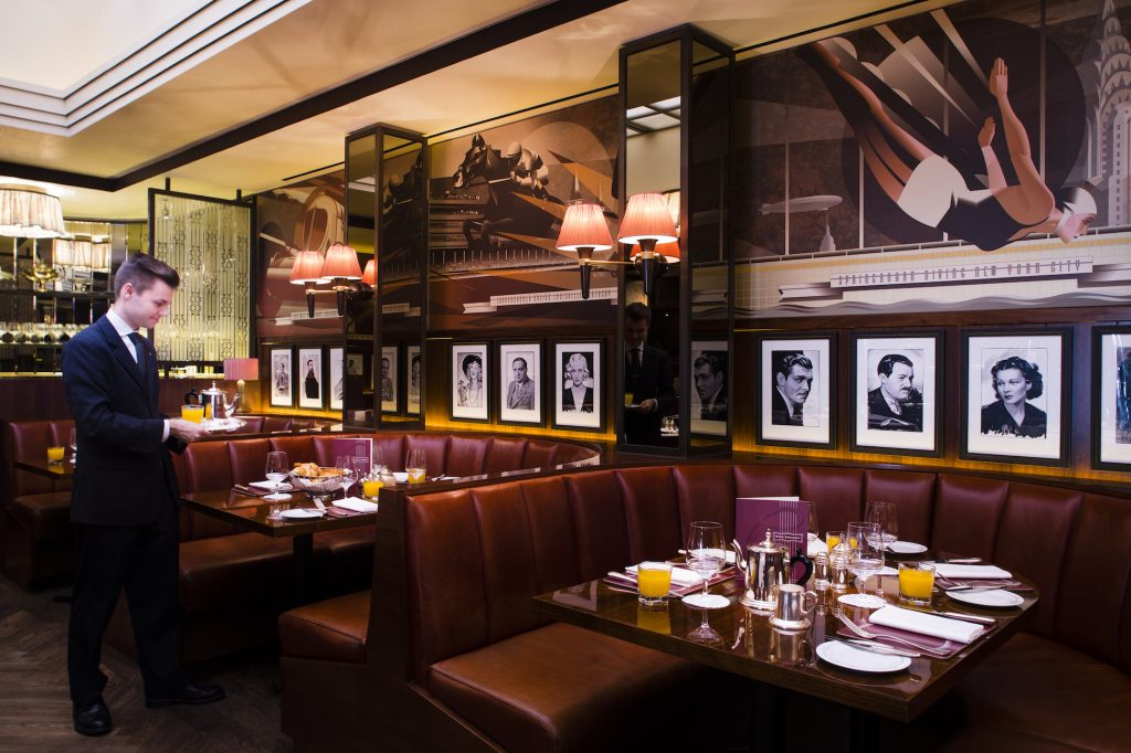 The Colony Grill Room, Beaumont Hotel