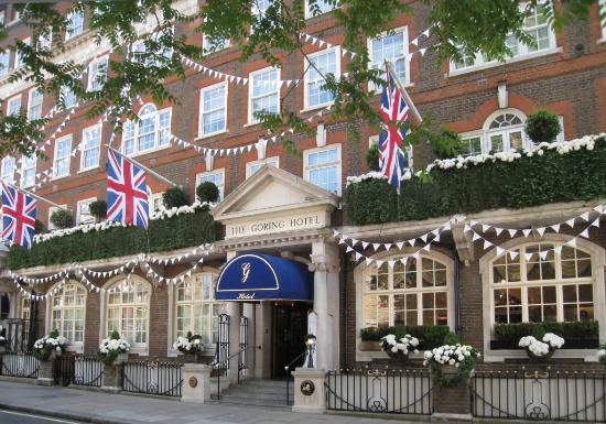 The Goring Hotel London.