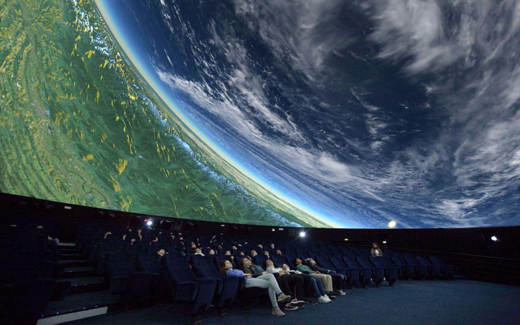 The science museum even has a planetarium, Paris