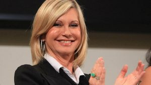 Olivia Newton-John has launched her own skincare range.