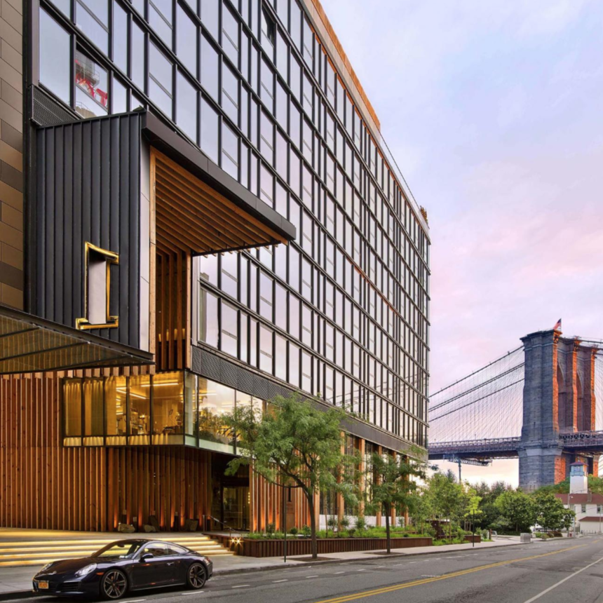 1 Hotel Brooklyn Bridge luxury new york travel tips