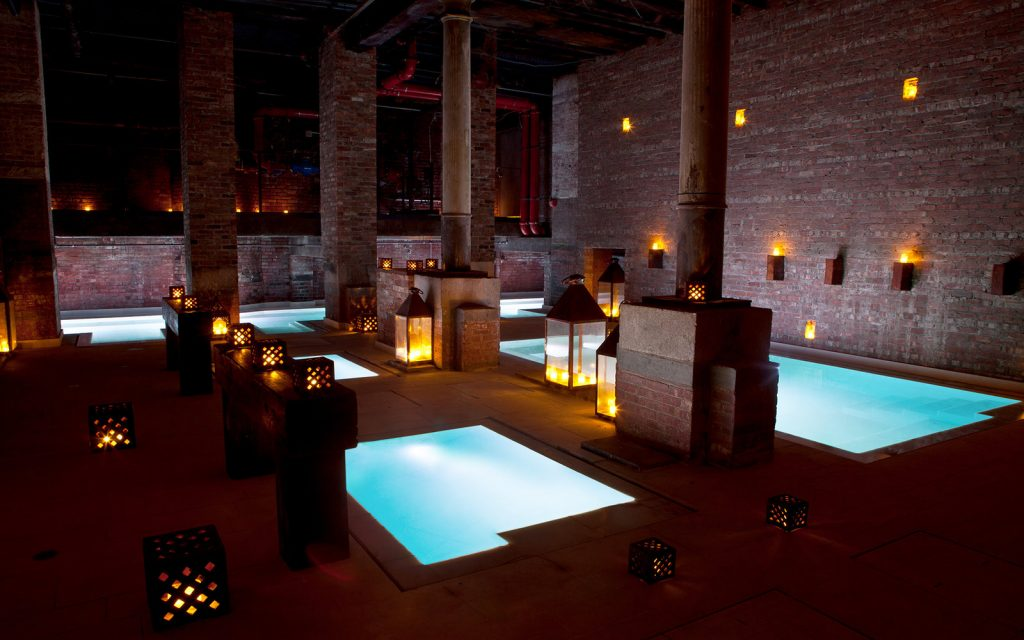 Luxury travel New York Aire ancient baths