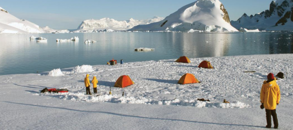 Camping in Antartica bucket list trips quark expeditions