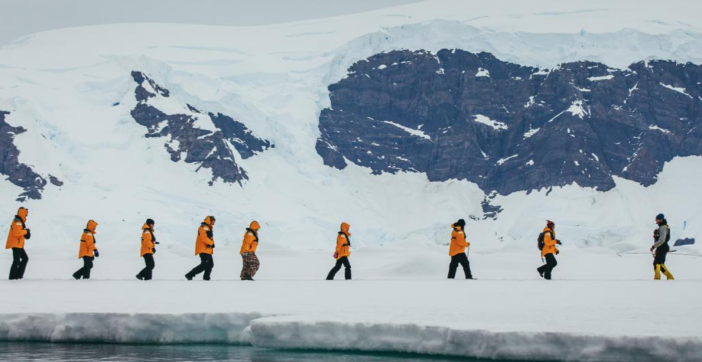 bucket list trips Quark expeditions camp in Antarctica