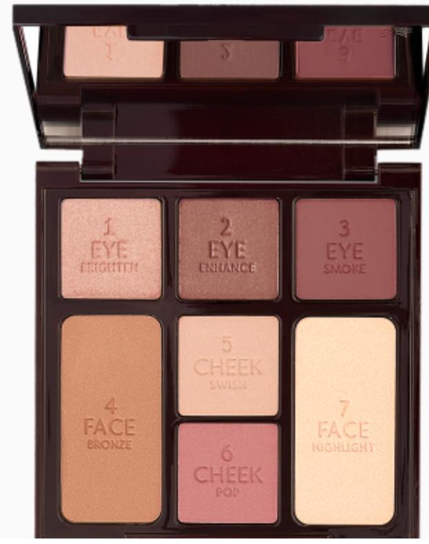 Charlotte Tilbury travel makeup essentials