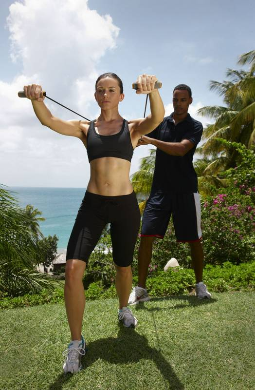 Strength training for couples