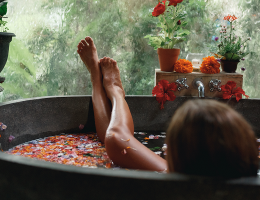how to have an at home luxury spa bath