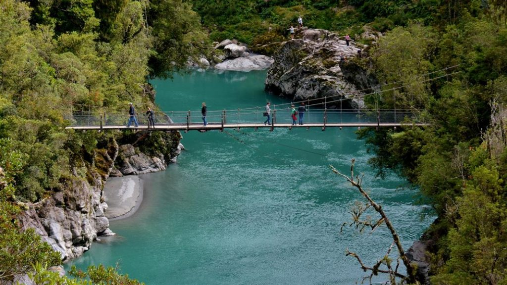 Hokitika Gorge New Zealand travel worthy instagram spots