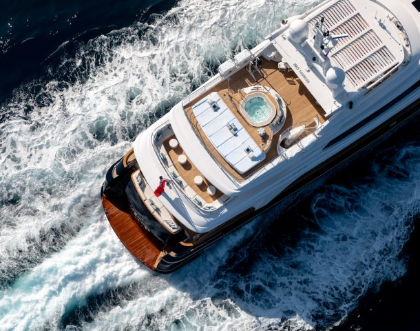 Luxury private yachts are becoming more popular post-covid according to Ahoy Club in Sydney.
