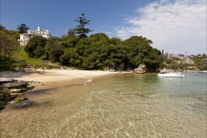 milk beach in Vaucluse