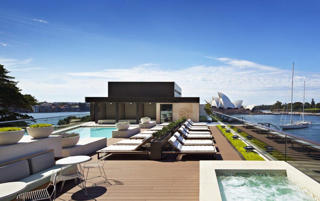 Rooftop Pool, park hyatt