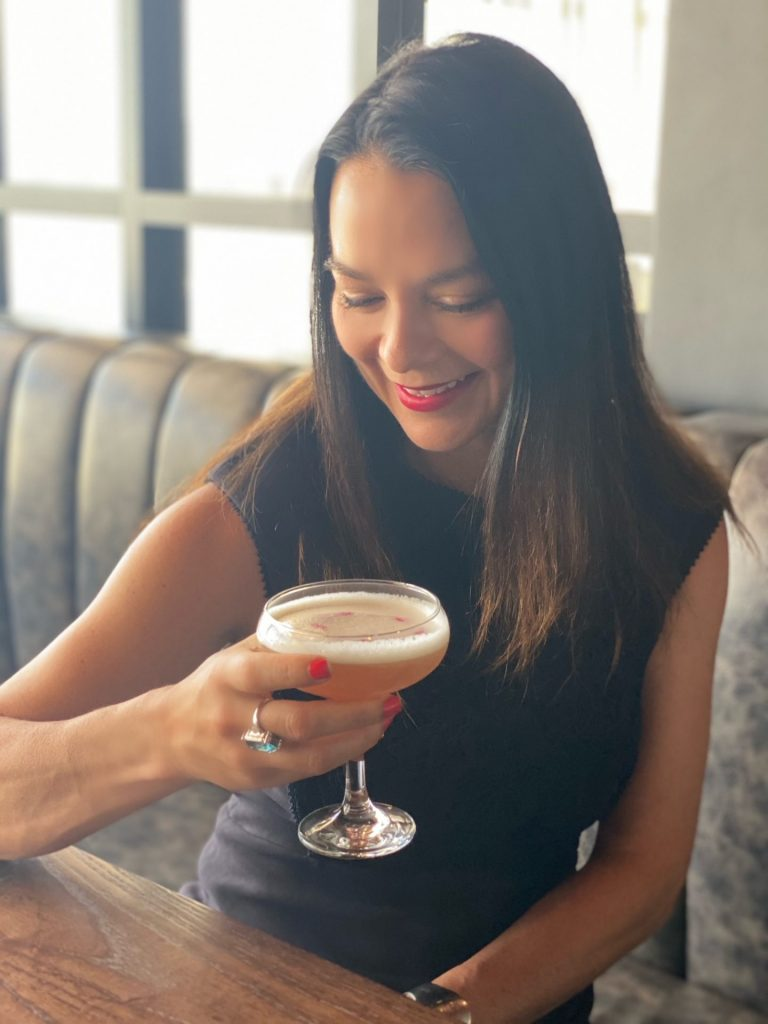 There is a fantastic cocktail menu with modern creations as well as traditional options.