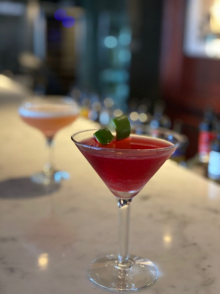 Sophisticated cocktails are on offer at The Coal Bunker, Bar At The Powerhouse Hotel, Tamworth.