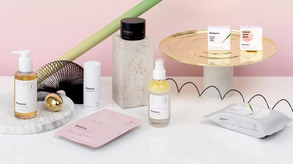 Knours is a beauty brand focussing on hormonal skin