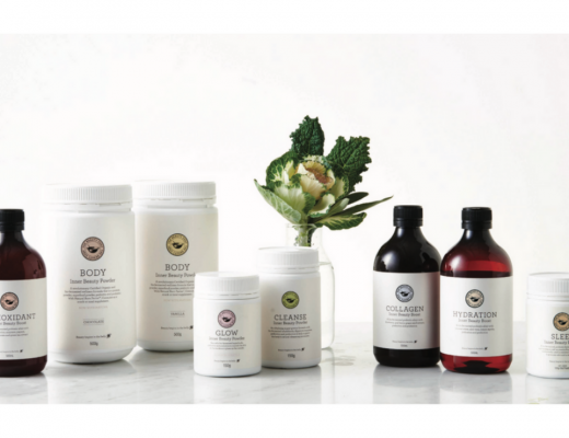 Products from The Beauty Chef